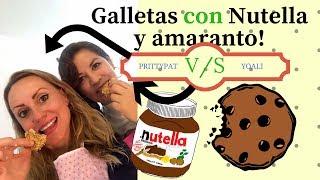 RETO GALLETAS CON NUTELLA Y AMARANTO Hazlas te van a gustar!