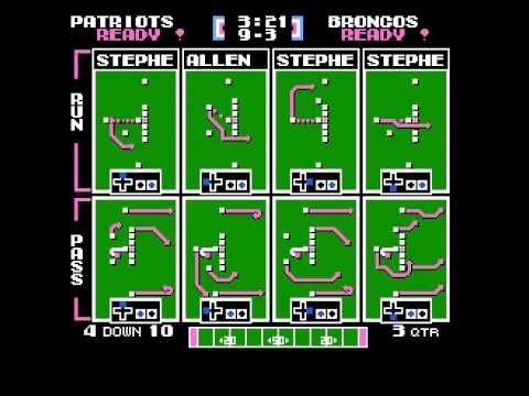 Steve Grogan Passing Challenge Week 9 vs Broncos