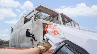 LTT Game Nerf Guns | Raid Enemy Base | Gaming Nerf Guns fps ✈💣⌚
