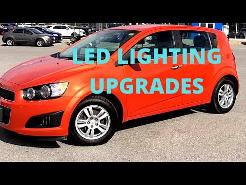 Chevy Sonic LED Interior Light Install (2012-2016)