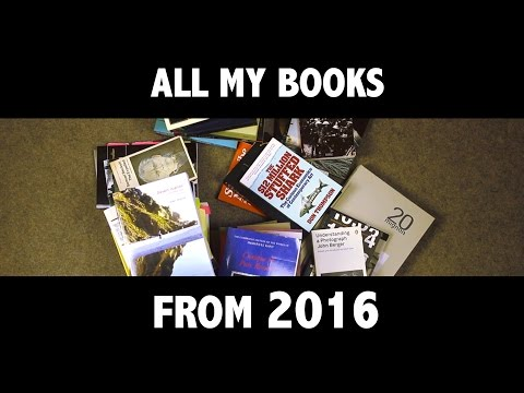 2016: ALL MY BOOKS