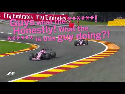 Ocon's Fury At Perez In Belgium | F1 Best Team Radio 2017