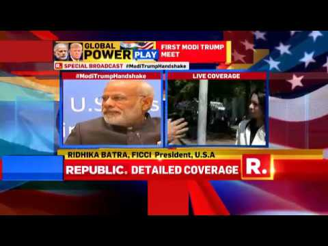Ridhika Batra On The Bilateral Ties #ModiTrumpHandshakes