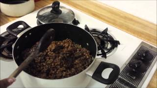 In The Kitchen With Tricia Nicole ( Italian Sausage Kale Lentil Soup)