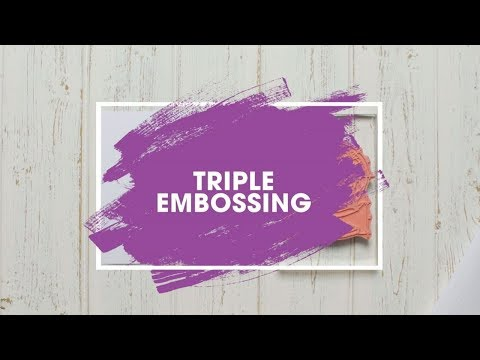 Stamping Technique: Triple Heat Embossing Tutorial thumbnail