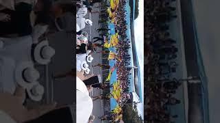 MEVA MARCHING BAND 61'DESFILE DE SILLETEROS 2018 #FERIADEFLORES