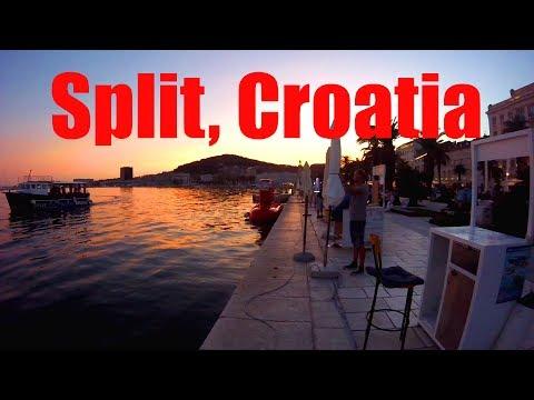 An Evening in Split, Croatia: Lovely City in the Balkans