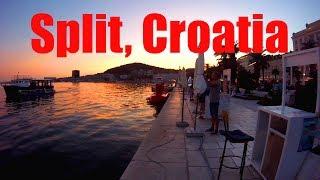 A Taste of Split, Croatia on the Adriatic Sea