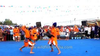 Martial art traditions of India: Gatka of the Sikhs