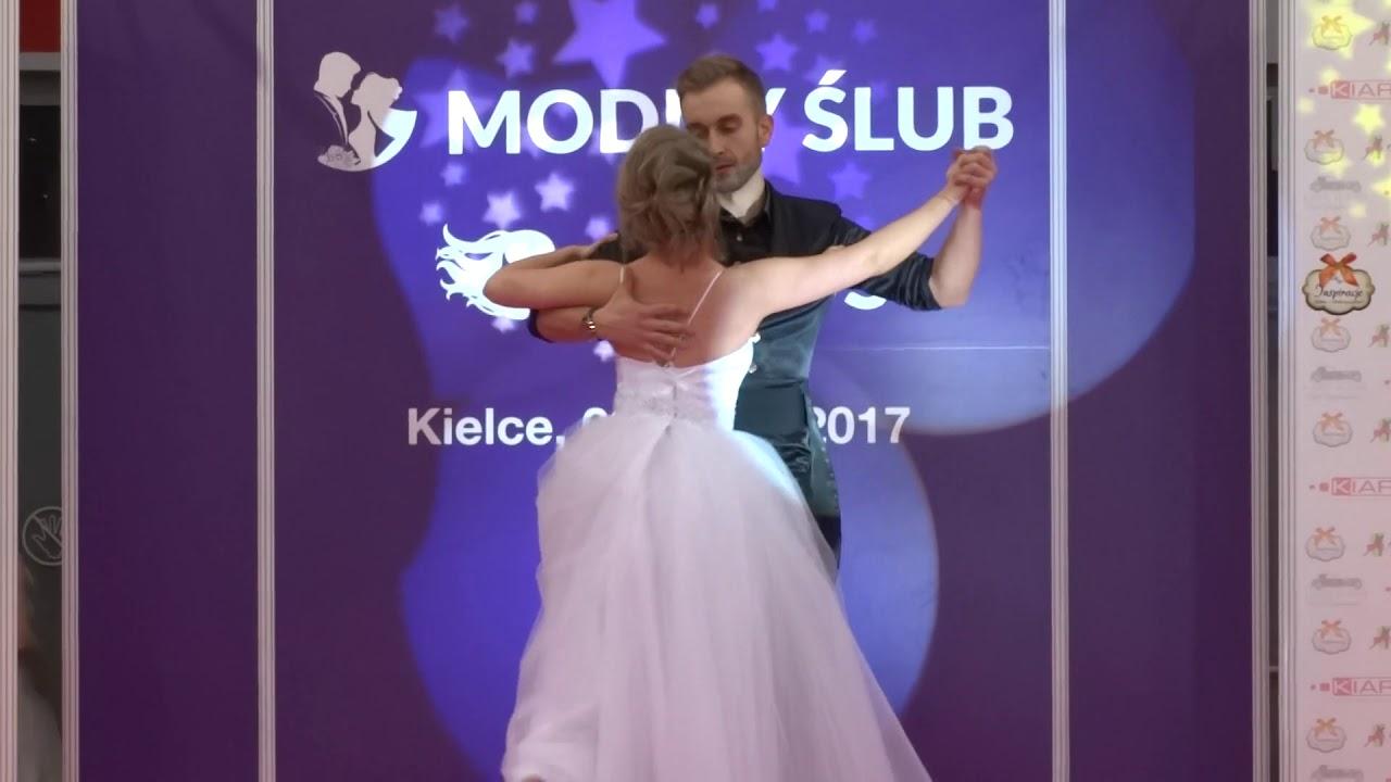 Walc angielski tancerzy Candela. Targi ślubne w Kielcach 10.12.2017