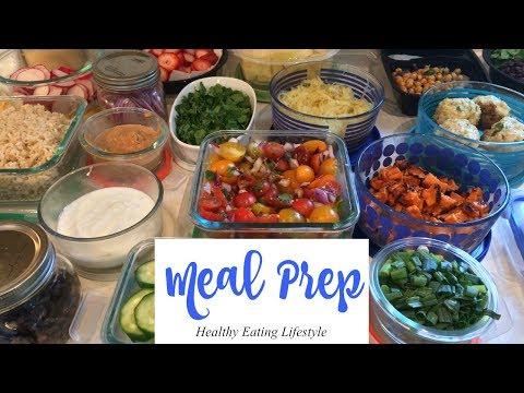 Weekly Meal Prep | Healthy Eating Lifestyle