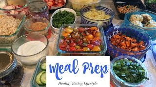 Weekly meal prep | healthy eating lifestyle