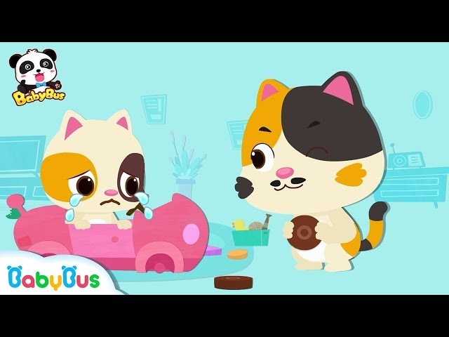 Baby Kitten's Car is Broken | Baby Kitten Family | Kids Song | Baby Kitten Care | BabyBus Cartoon