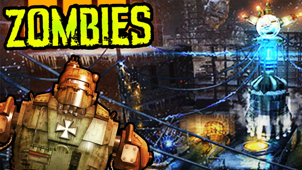 CALL OF DUTY BLACK OPS 3 ZOMBIES: THE GIANT\'S SECRET (GIANT ROBOTS ...