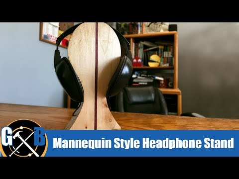 Make a DIY Hardwood Headphone Stand :: How To