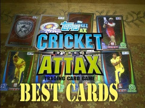 Cricket Attax Cards Games my Best Cricket Attax Cards