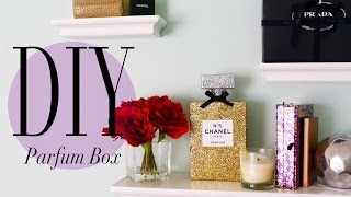DIY Chanel No 5 Perfume Bottle Room Decoration | ANNEORSHINE