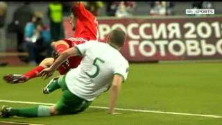 Russia v Republic of Ireland - Hi Lights (6/9/11)