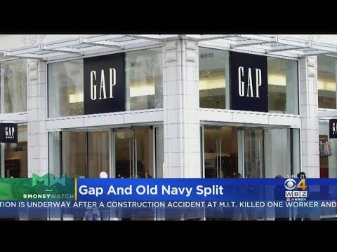Gap And Old Navy Split