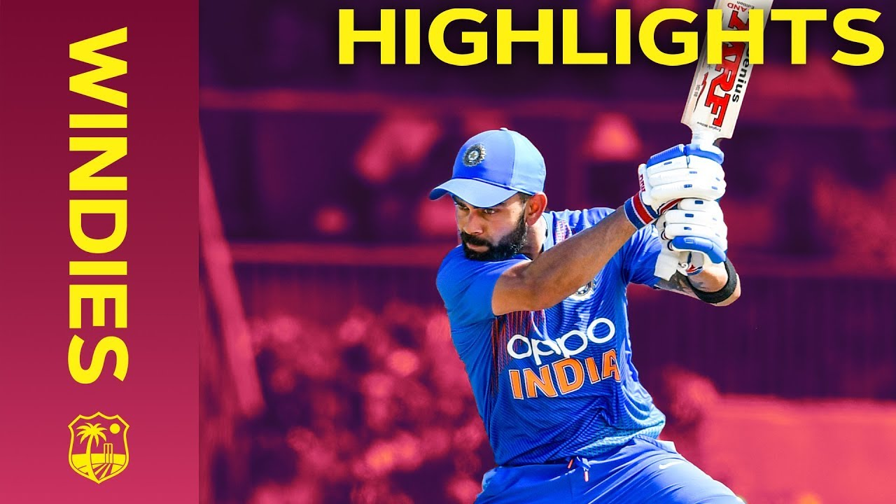 Chahar Takes Three Wickets in Four Overs   Windies vs India - Match Highlights   3rd IT20 2019