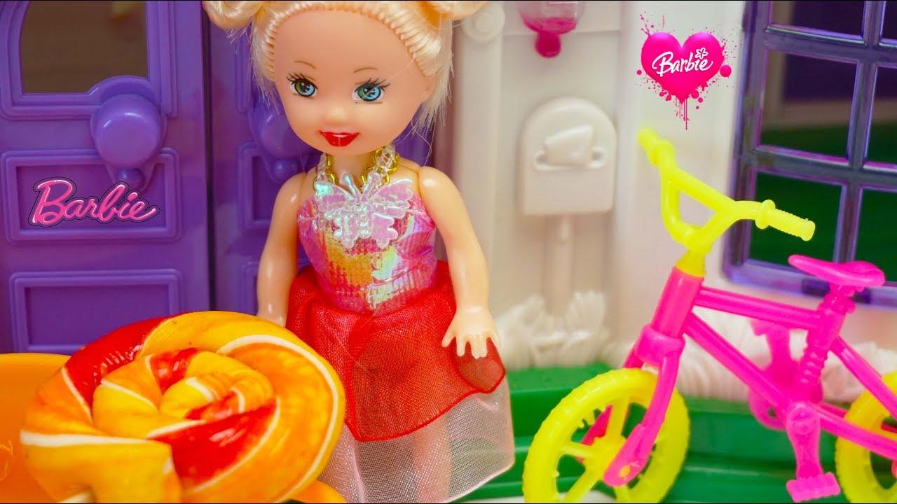 Mainan Masak Permen Barbie Cook Candy Untuk Anak Anak Video Anak Indonesia Mainan Barbie Cooking Youtube