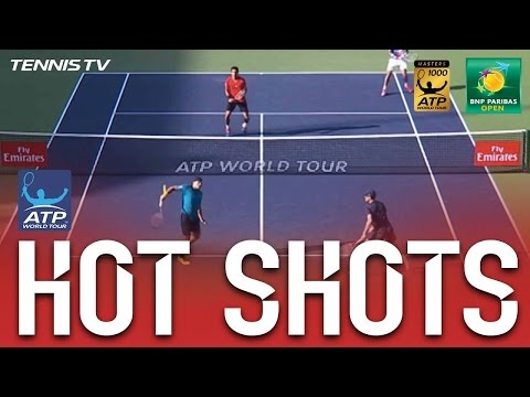 Hot Shot: Bruno Goes Behind The Back In Indian Wells 2017