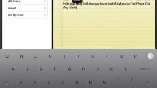 Repeat youtube video 8 ball pool hack Ipad iPhone iPod Cydia