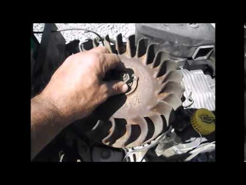 John Deer Mower 185 Fix Has No Spark Finding Out Why Part 1