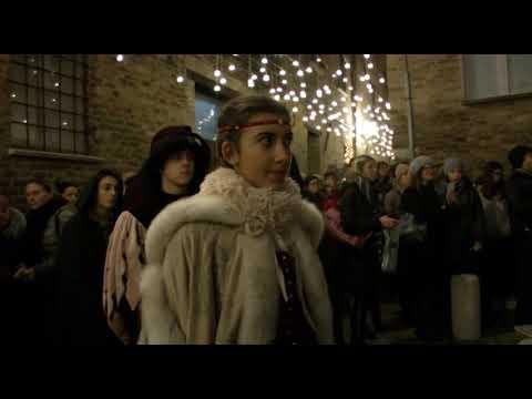 L'atelier di Battista cura la rievocazione storica della Natività di Piero della Francesca