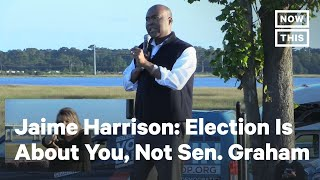 Senate Candidate Jaime Harrison Hosts Pick-Up Truck Rally | NowThis