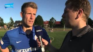 Interviews nach dem Testspiel gegen den TSV Bützow