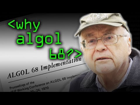 ALGOL 68 Instead of Pascal? - Computerphile