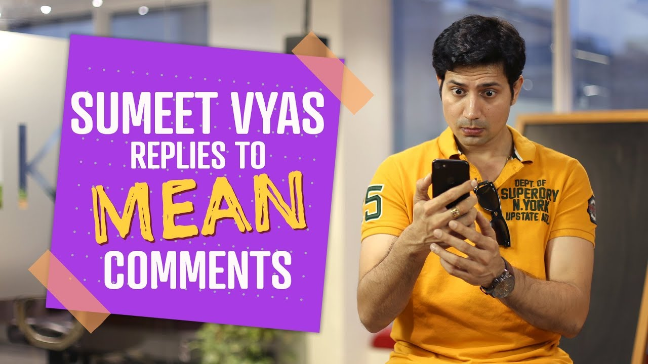 Sumeet Vyas responds to mean comments | Pinkvilla | Comedy | Permanent Roommates | Official CEOgiri