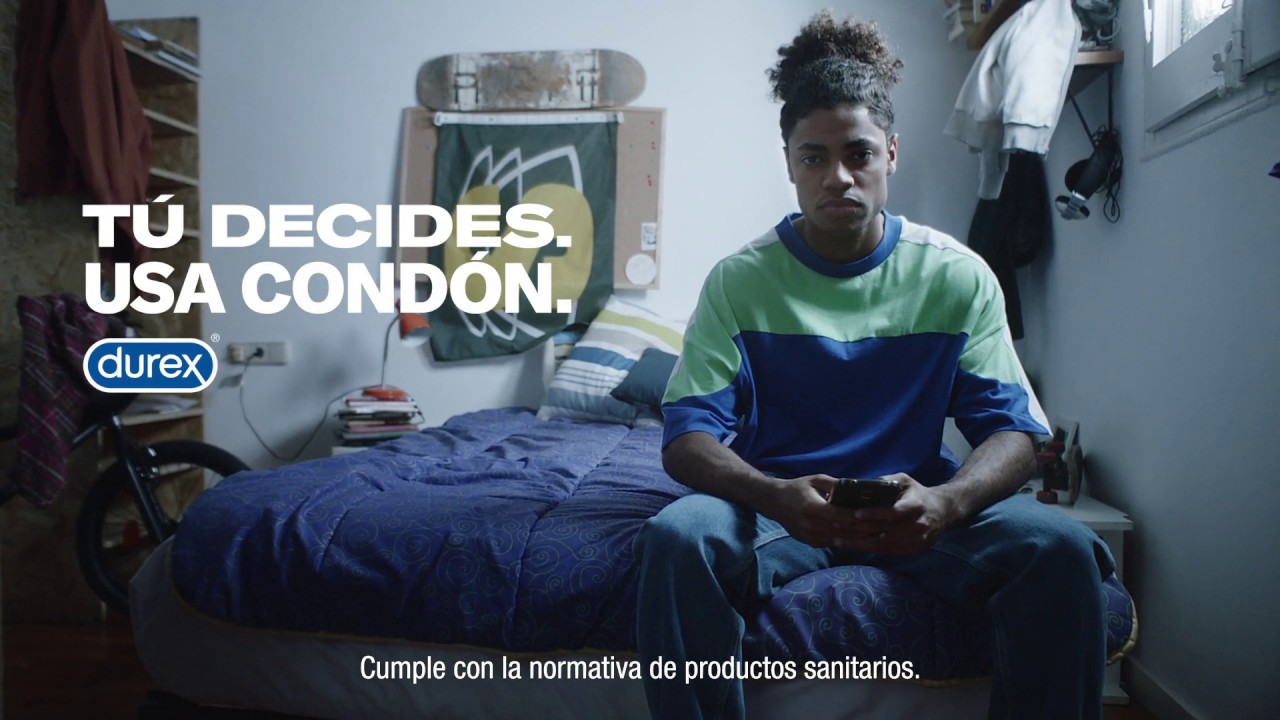 WE ARE CP | Audiovisual: Spot | Durex: Tú decides. Usa condón. Hombre 20s.  V2 - YouTube