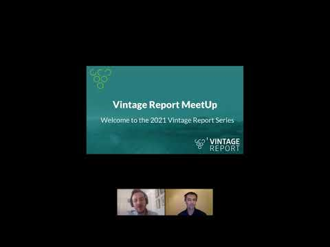 2021 Vintage Report Meetup Replay