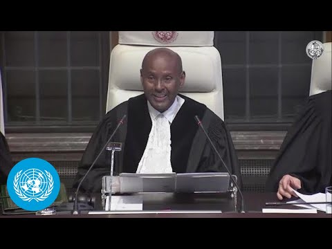 The International Court of Justice (ICJ) delivers its Order