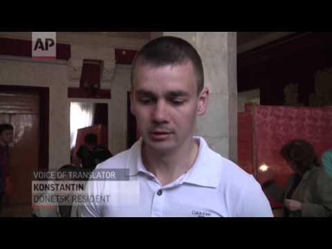 Ukraine Regions Hold Sovereignty Vote