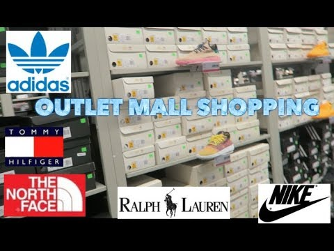 TRIP TO THE MALL: POLO, ADIDAS, TOMMY HILFIGER, NIKE, NORTH FACE + MORE!!!