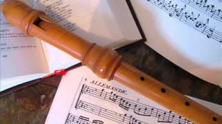 Pierre Danican Philidor - Suite op I n°3 - 1er mouvement: lentement