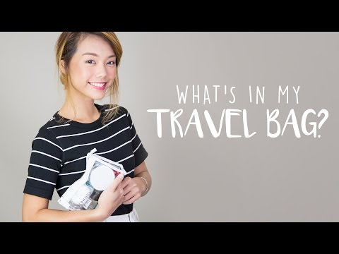 Andrea Chong: What's In My Travel Bag?