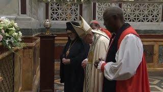 Đức Thánh Cha chủ sự kinh chiều bế mạc tuần cầu nguyện hiệp nhất Kitô Giáo