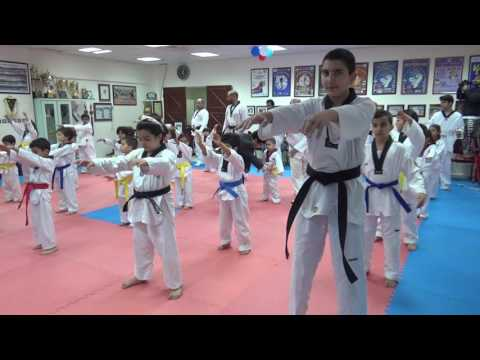 Taekwondo competition in Sea sport club Kuwait بطولة التايكو