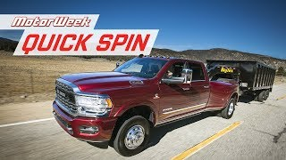 2019 RAM Heavy Duty Pickups | MotorWeek Quick Spin