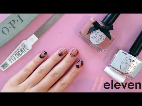 Tutorial Easy Manicure For Short Nails