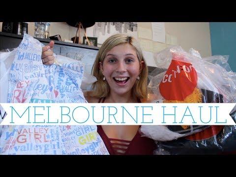 Melbourne HAUL & Try On // Casey Caroline