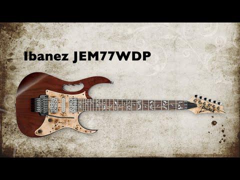 NEW GEAR NEWS! Ibanez JEM77WDP New Steve Vai Signature Guitar Rundown