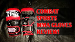 Combat Sports Max Strike MMA Training Gloves REVIEW Perfect for MMA training
