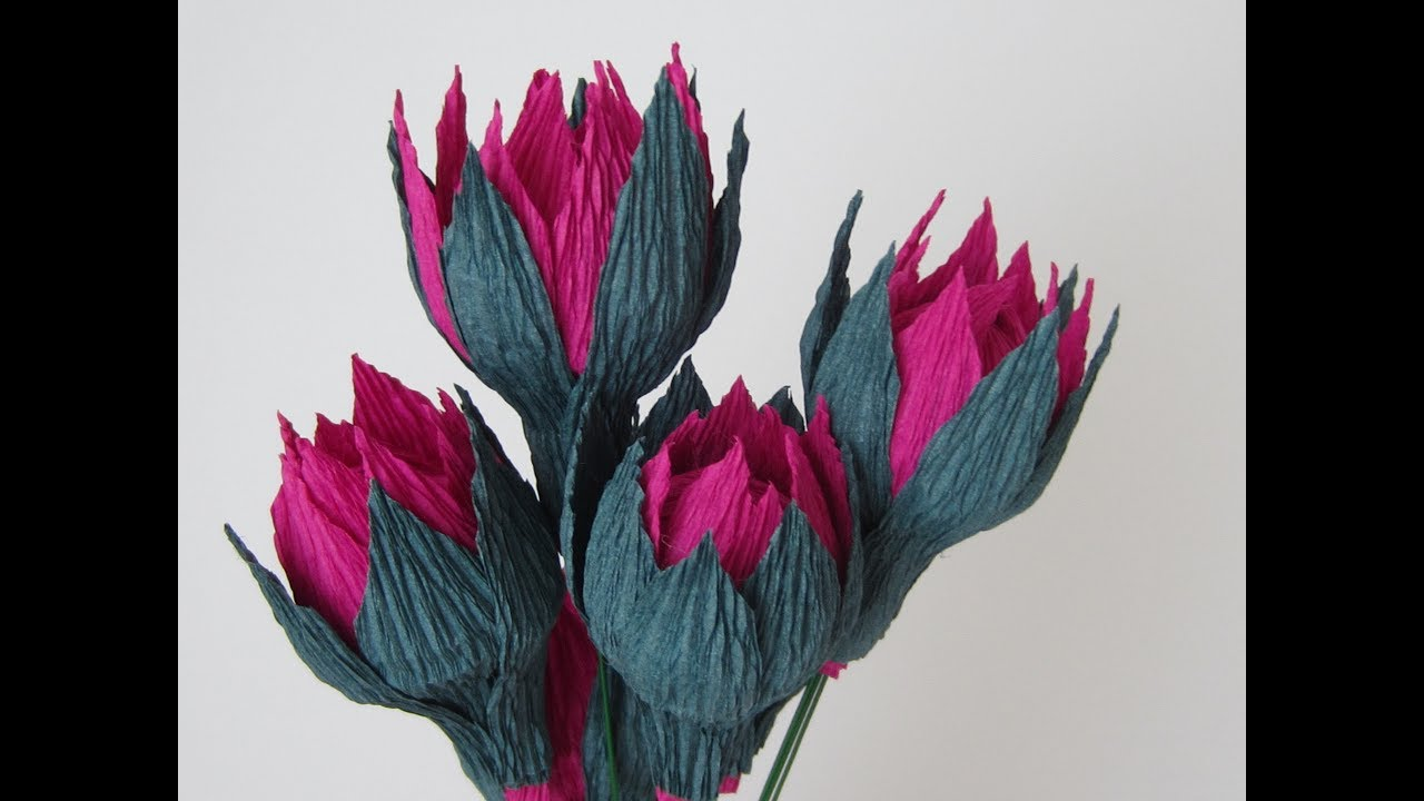 How to make dahlia flower buds using italian crepe paper youtube how to make dahlia flower buds using italian crepe paper mightylinksfo