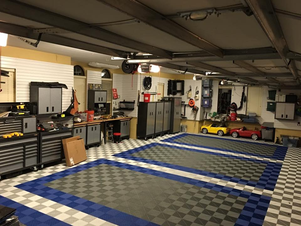 Swisstrax Ribtrax Flooring Install Time Lapse Youtube