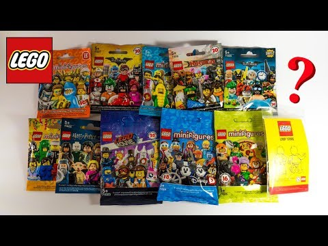 Multiple LEGO Collectible MINIFIGURES Opening And CUSTOM Lego Store Minifig